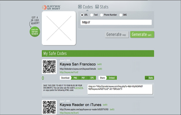 qr code on mac